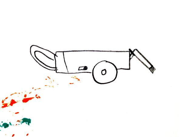 Large gaangchoi sketch