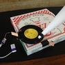 Small phonograph