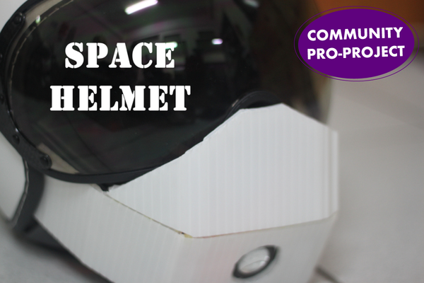 Large filled spacehelmet pro 1