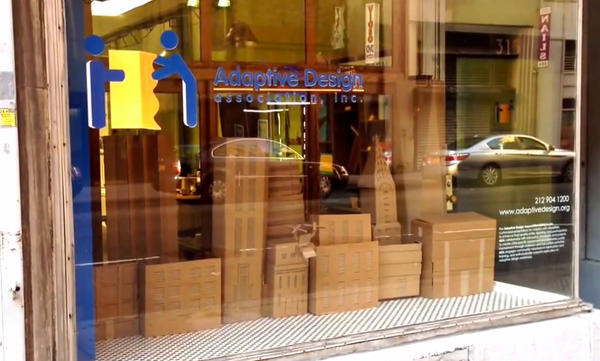 Large future of accessible cities window display   youtube