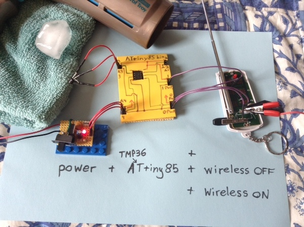 Large temp sensory attiny85 wireless icon