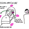 Small kissing machine